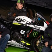Keith Flint with Steve Mercer and James Rispoli