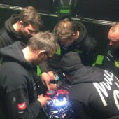 How many mechanics does it take to....